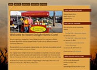 Kettle Corn website by Cindy Emmett