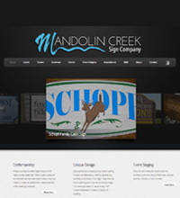 Mandolin Creek Sign Company